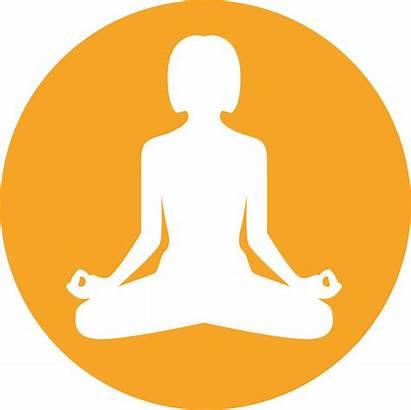 Meditation Icon Bitcoin Ethereum Cash Cryptocurrency App