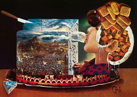 taschen cuisine salvador dalí 39 s 1973 cookbook gets reissued surrealist