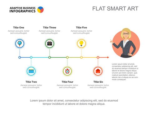 timeline template chart timeline chart slide template vector free download