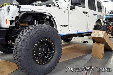 poison spyder build white russian jk tires