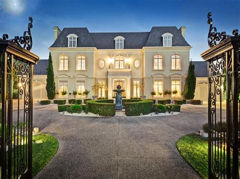 chateau homes chateau style home chateau style gated