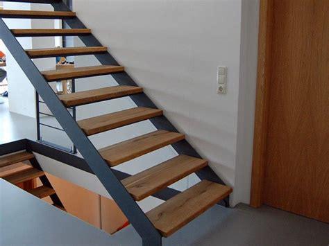 treppe stahl holz treppe stahlwange