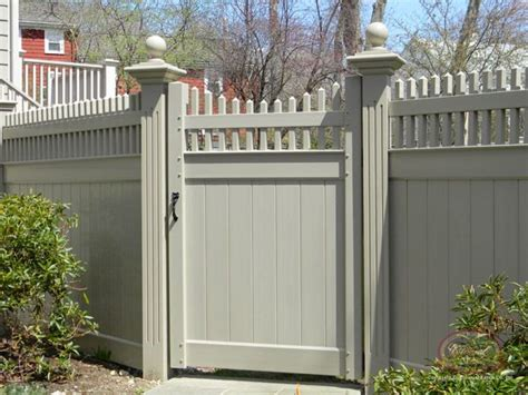 vinyl fence ideas vinyl fence gate ideas woodworking projects plans