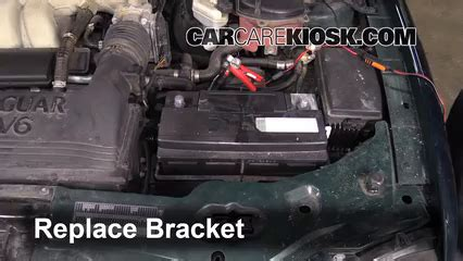 Jaguar S Type Battery Replacement by Battery Replacement 2002 2008 Jaguar X Type 2005 Jaguar