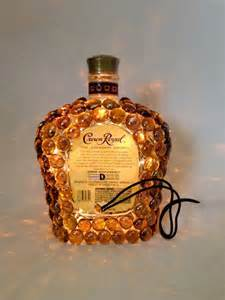 Decorative Wine Bottles Diy by Crown Royal Liquor Bottle Light
