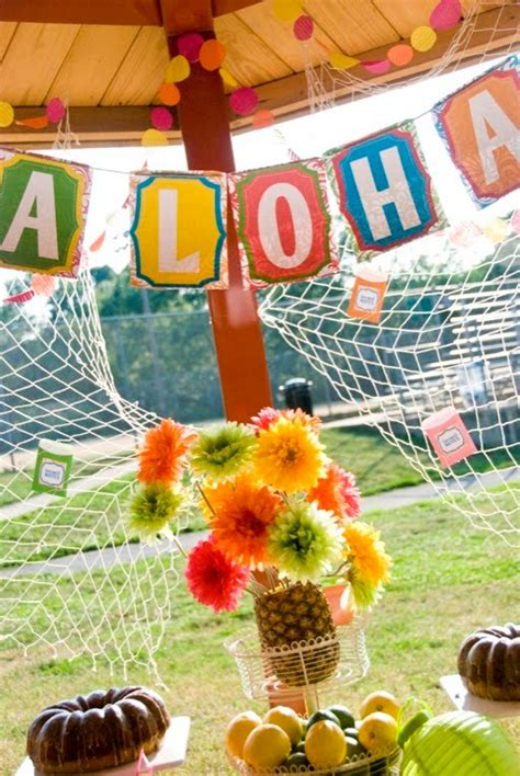 kara s party ideas hawaiian farewell luau kara s party