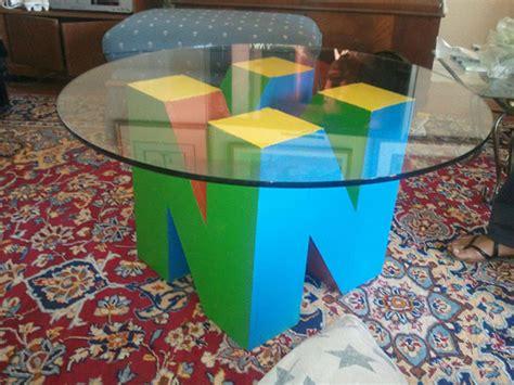 Nintendo 64 Coffee Table Needs Matching 64dd Shelf Technabob