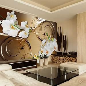 vlies fototapete 3 farben zur auswahl tapeten blumen With markise balkon mit tapeten asia style