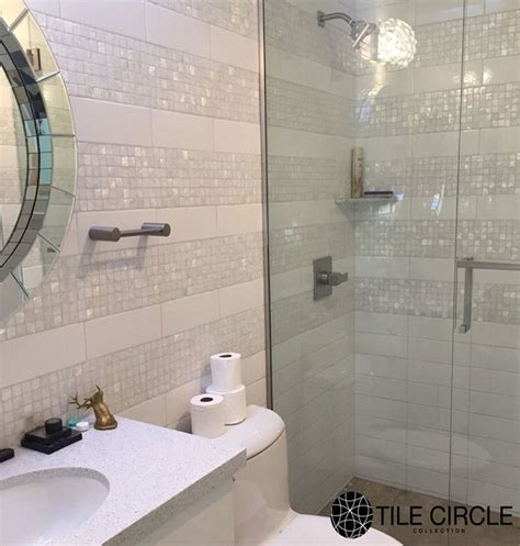 Bathroom Wall Tile Installation by 91 Best Images About Of Pearl Tiles By Tile Circle