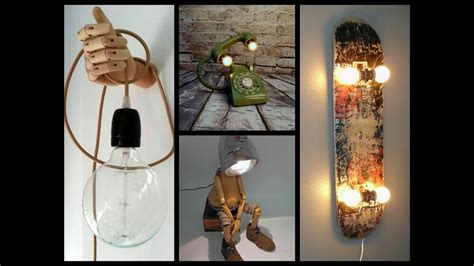 awesome diy lamp ideas recycled crafts ideas youtube