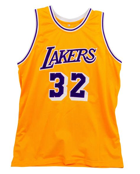 Los angeles lakers apparel & gear on sale. Lot Detail - Lot of 12 Magic Johnson Signed Lakers Home ...