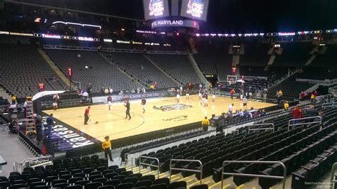 sprint center section  basketball seating rateyourseatscom