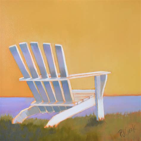adirondack chair oilpainting2