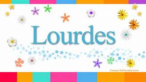 Lourdes, significado del nombre Lourdes, nombres