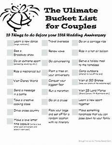 the ultimate bucket list for couples buckets couples With things to do for wedding anniversary