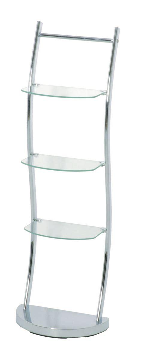 komfort chrome bathroom shelves