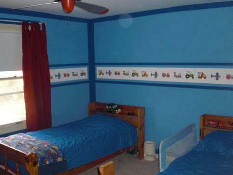 Bedroom Cool Blue Nuance At Contemporary Kids Bedroom