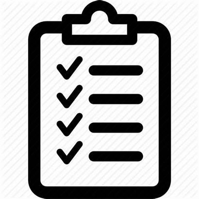 Checklist Icon Clipboard Check Report Form Transparent