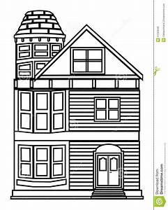 House Outline Stock Vector - Image: 41223646