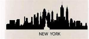 Aliexpress com : Buy New York Skyline Wall Sticker New