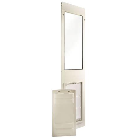 endura flap pet door thermo panel 3e white frame