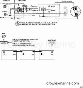 Wire Diagram Model 6109v   36 Volt