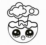 Emoji Coloring Explosion Emojis Colorear Colorealo sketch template