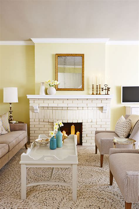 Living Room Without Fireplace Ideas by Design Tricks From Richardson Serene House Tour