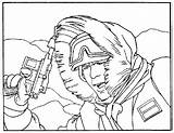 Coloring Hoth Hobbit Wars Coloriages Han Solo Films Coloriage Sideshow Drawing Echo Base sketch template