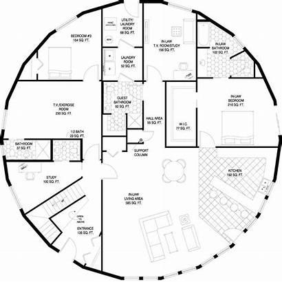 Plans Round Floor Deltec Homes Custom Architectural