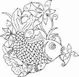 Chinois Coloring Coloriage Coloriages Riscos Mandala Desenhos Orientais Enfants Goldfish Lucky Sage Malvorlagen Chineses Colorier Typepad Gemerkt Compartilhe sketch template
