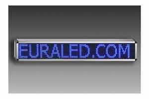 Panneau Lumineux Message : panneau led d filant programmable 132 x 36 cm led vertes ~ Teatrodelosmanantiales.com Idées de Décoration