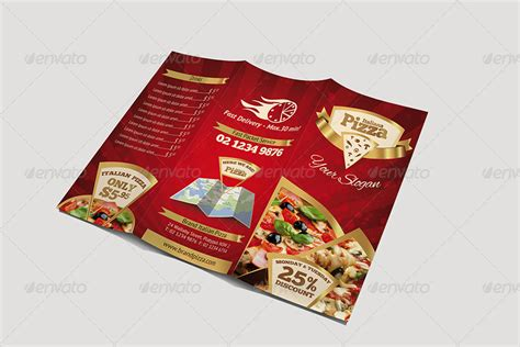 home design elements reviews trifold brochure pizza menu by hsynkyc graphicriver