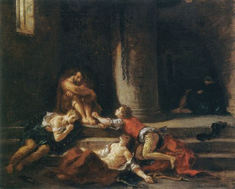 Eugène Delacroix - Ugolino and His Sons in the Tower