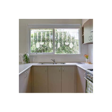 stickers vitres cuisine stickers dépoli éléments cuisine décoration vitre et