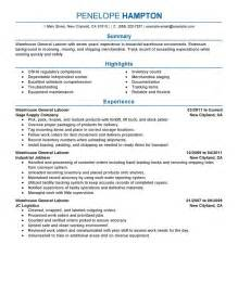 general labor resume objective statements 18 amazing production resume exles livecareer