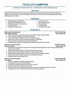 laborer resume examples 4 general labor advice With free resume consultation