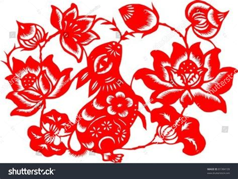 China Paper-cut Art, Chinese Year For Rabbit, Spring Contemporary Art Exhibition Grants Bad Aboriginal Texture In Sculpture Side Of Activities Easy Shape Text History Research Wallpaper