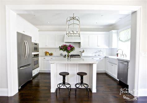 shaped kitchen transitional kitchen studio mcgee