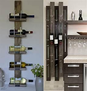 Weinregal Für Die Wand : so einfach kann man ein eigenes weinregal selber bauen freshouse ~ Markanthonyermac.com Haus und Dekorationen