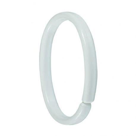 anneau plastique pour rideau de douche par