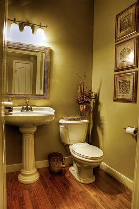 home revovationmakeover traditional powder room