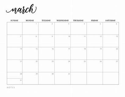 Calendar 2021 Printable March January April Pages
