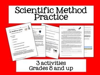 scientific method bundle science for secondary grades