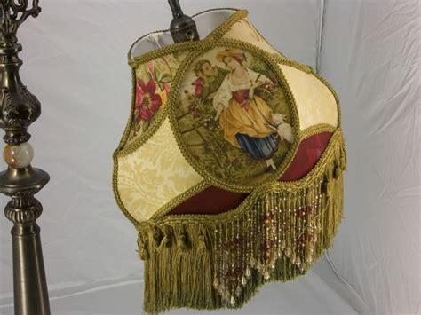 plain jane l shades victorian bridge uno lamp shade fragonard gold fabric ebay