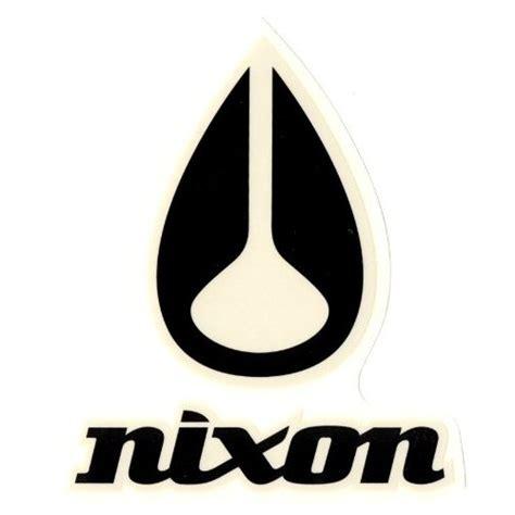 Amazon.com : Nixon Watches Sticker for Skateboard ...