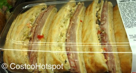 Costco: Roast Beef and Muffaletta Sandwich Tray $12.99