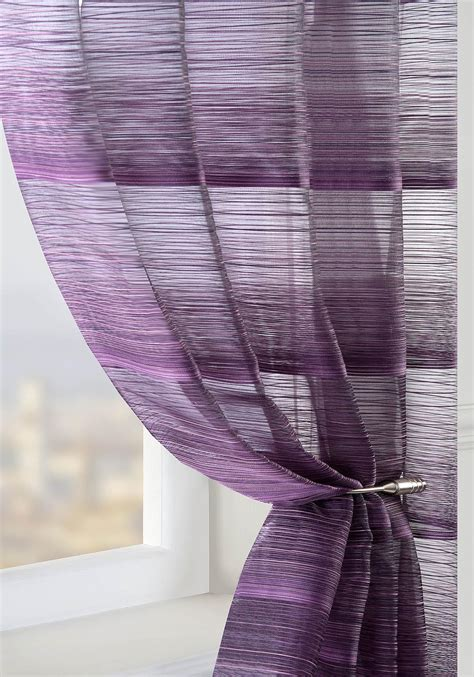 Matching Shower Curtain And Towels by Strata Voile Curtain Panel Plum Cheap Green Curtain