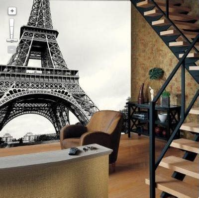 Eiffel Tower In Home Decor On Paris Living Rooms Ideas