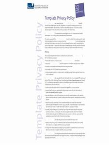 2018 privacy policy template fillable printable pdf With generic privacy policy template